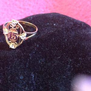 Jewelry - Ring 14. Karat Gold with diamonds